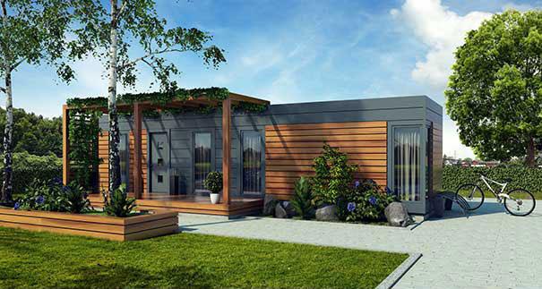 Casas de madeira, o futuro que a europa quer