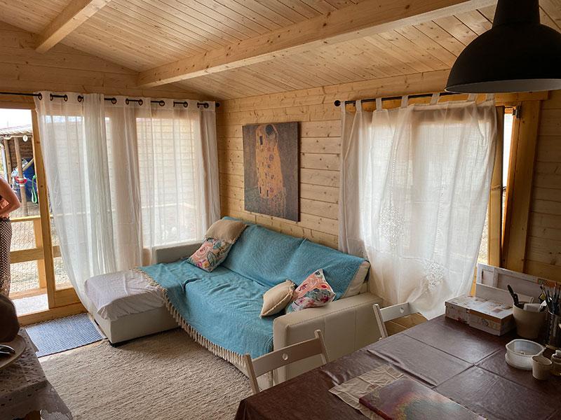 Casa de madeira em pinho nórdico